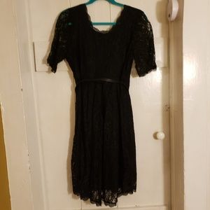 Maternity lace LBD  little black dress